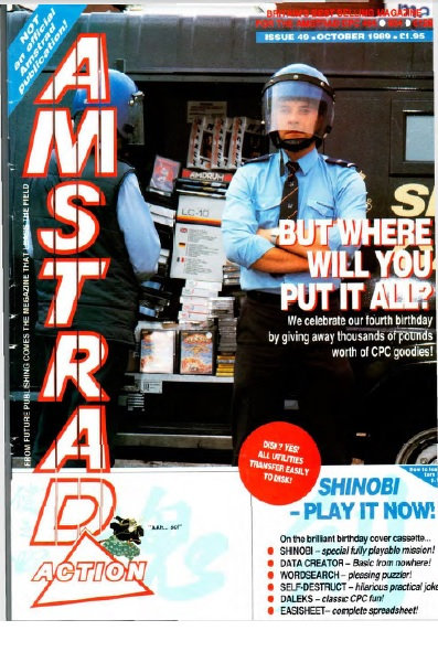 Amstrad Action Oct 1989