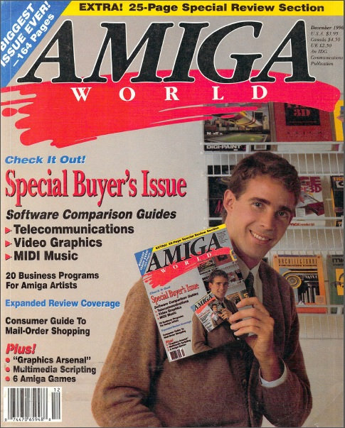 Amiga World Dec 1990