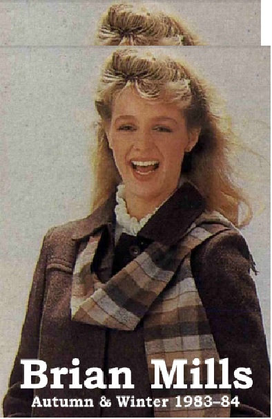 1983-1984 Brian Mills Autumn/Winter