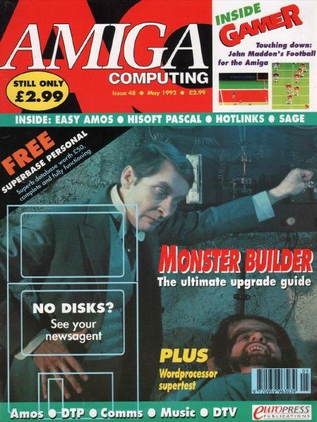 Amiga Computing May 1992
