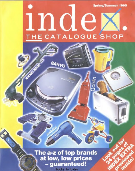 1995 Index Spring/Summer