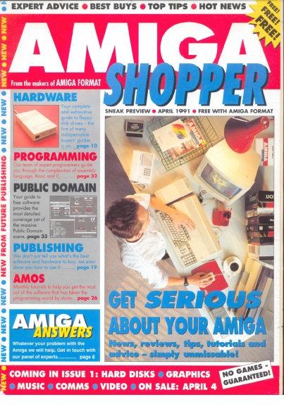 April 1991 Amiga Shopper