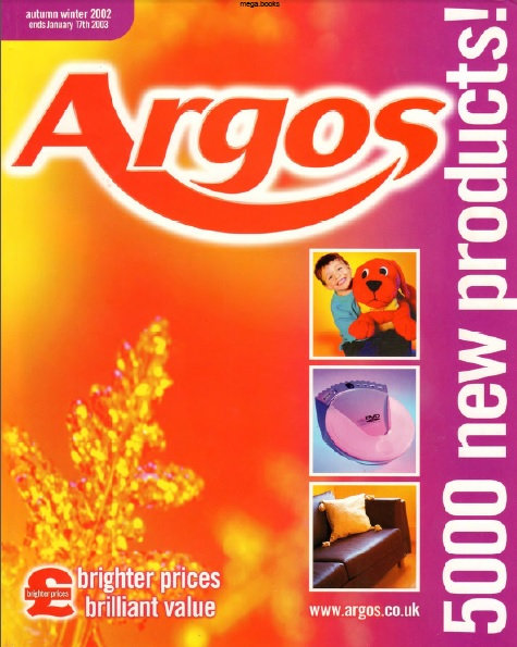2002-2003 Argos Autumn/Winter