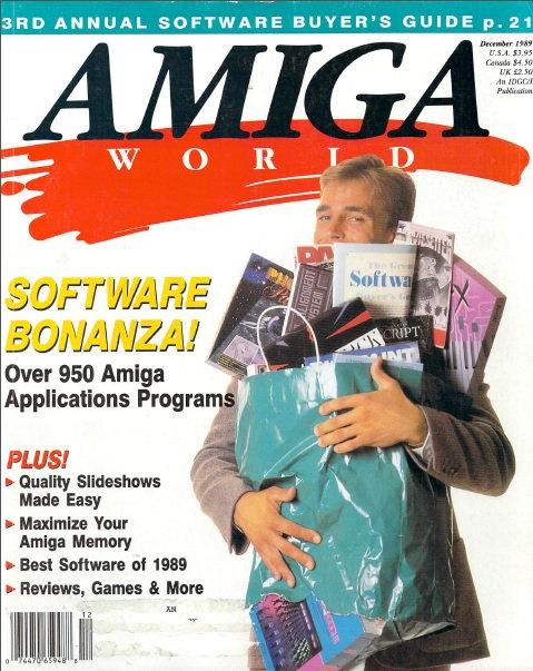 Amiga World Dec 1989