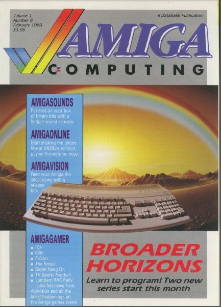 Amiga Computing Feb 1989