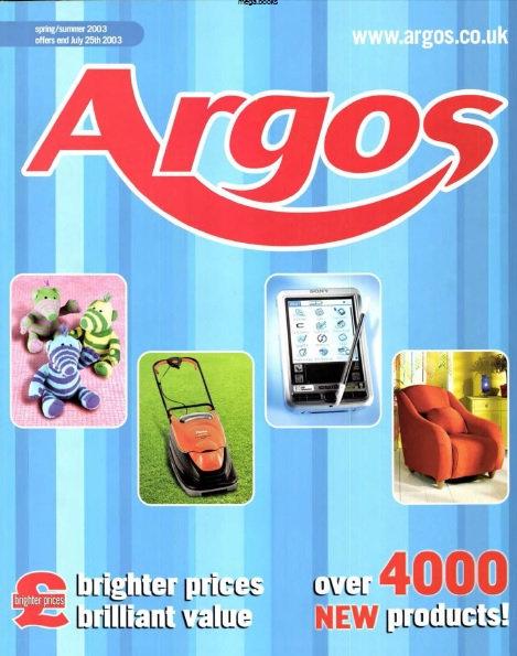 2003 Argos Spring/Summer