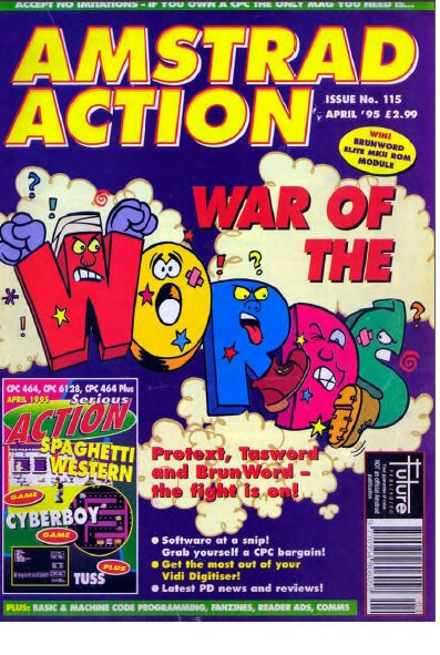 Amstrad Action April 1995