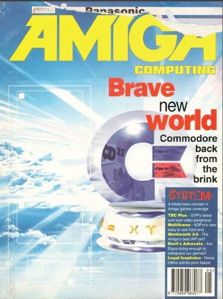 Amiga Computing May 1994