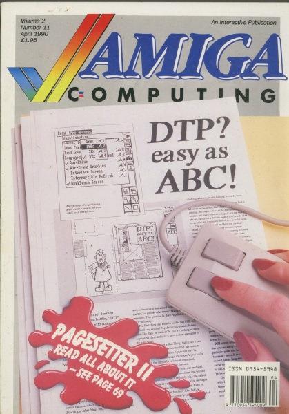 Amiga Computing April 1990