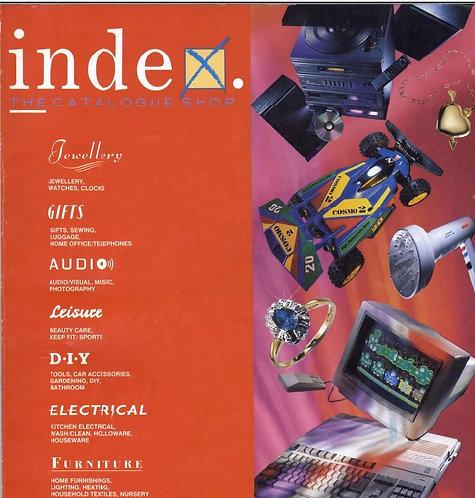 1991-1992 Index Autumn/Winter