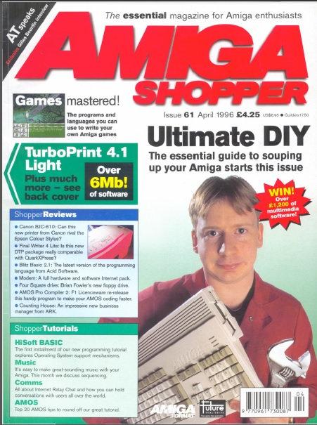 April 1996 Amiga Shopper