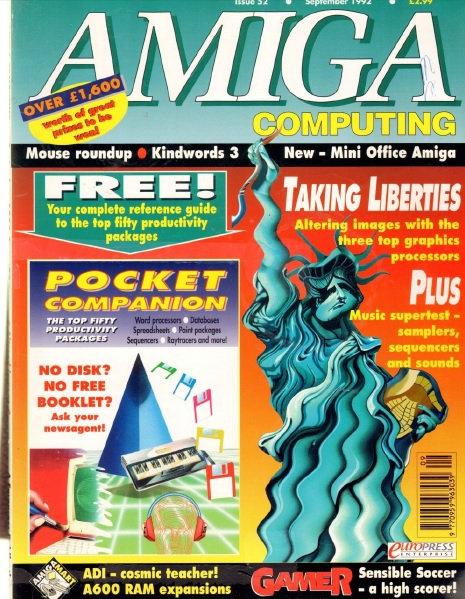 Amiga Computing Sep 1992