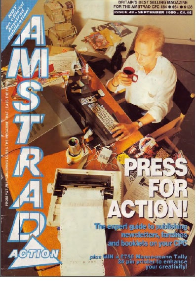 Amstrad Action Sep 1989
