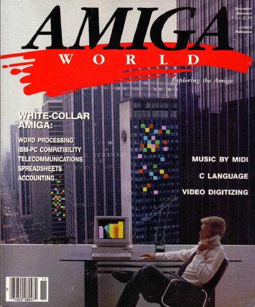 Amiga World Nov/Dec 1985