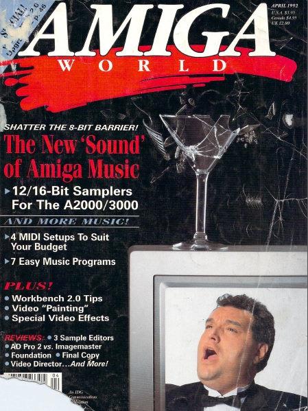 Amiga World April 1992