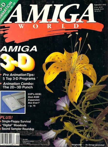 Amiga World Sep 1992