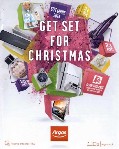 2014 Argos Christmas Gift Guide