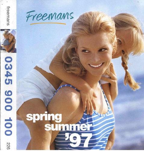 1997 Freemans Spring/Summer