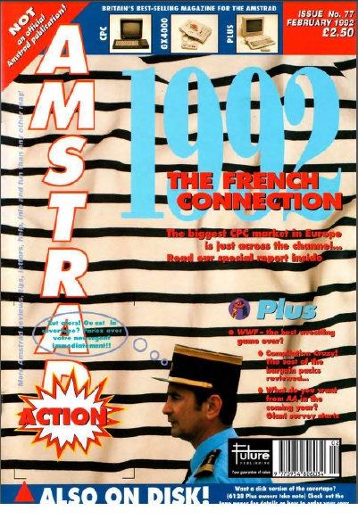 Amstrad Action Feb 1992