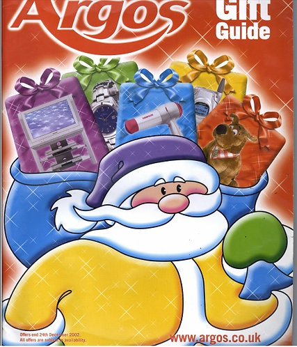 2002 Argos Gift Guide