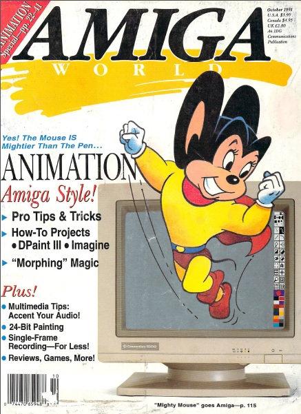 Amiga World Oct 1991