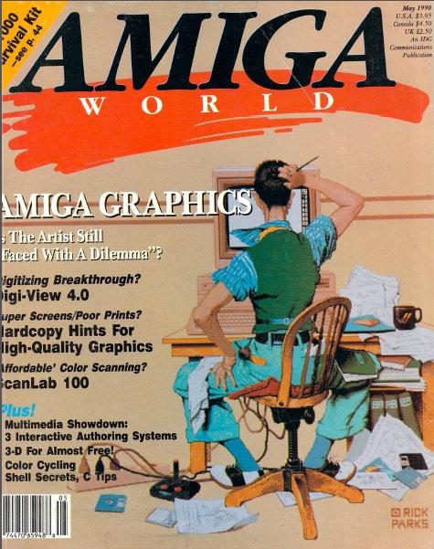 Amiga World May 1990