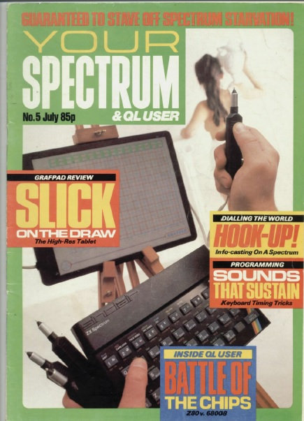 Your Spectrum July 1984