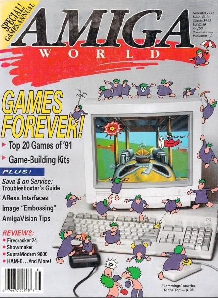 Amiga World Nov 1991