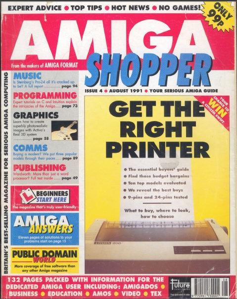 August 1991 Amiga Shopper