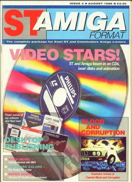 ST Amiga Format Aug 1988