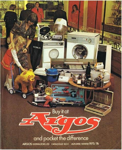 1975-1976 Argos Autumn/Winter