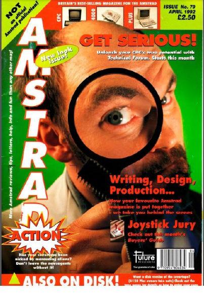 Amstrad Action April 1992