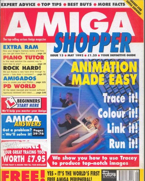 May 1992 Amiga Shopper