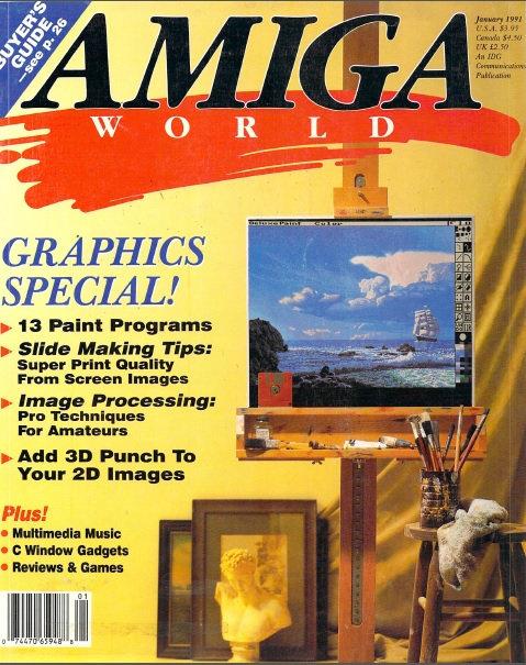 Amiga World Jan 1991