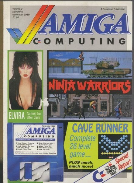 Amiga Computing Nov 1989