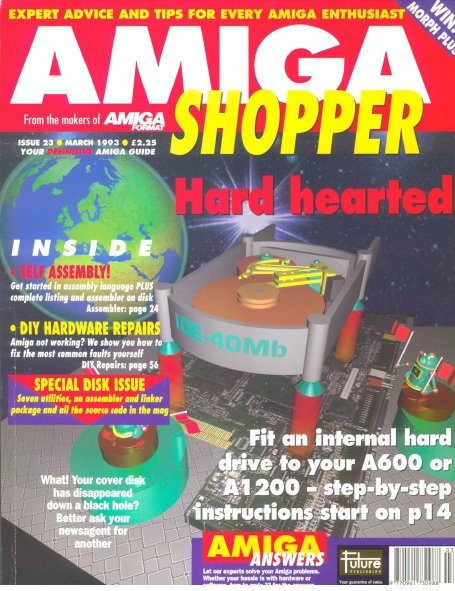 March 1993 Amiga Shopper