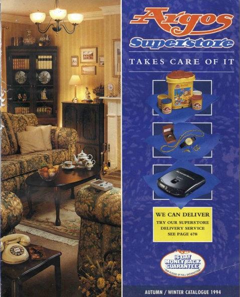 1994-1995 Argos Autumn/Winter