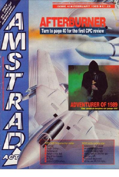 Amstrad Action Feb 1989