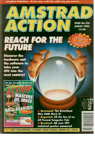 Amstrad Action March 1995