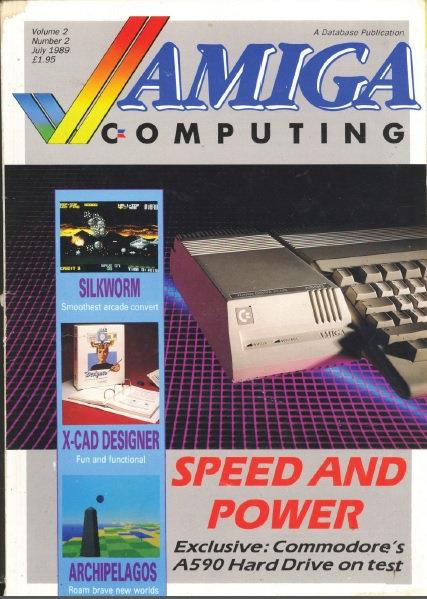 Amiga Computing July 1989