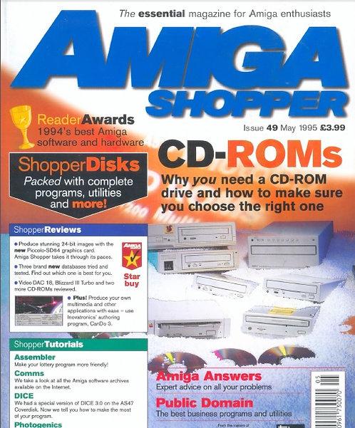 May 1995 Amiga Shopper