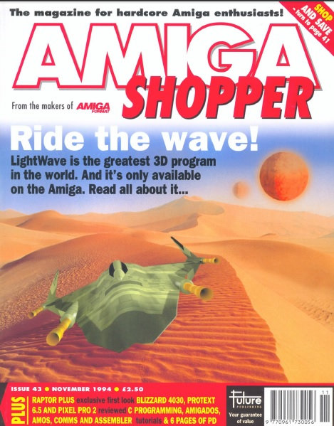 November 1994 Amiga Shopper