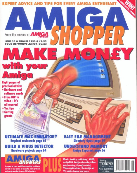 August 1993 Amiga Shopper
