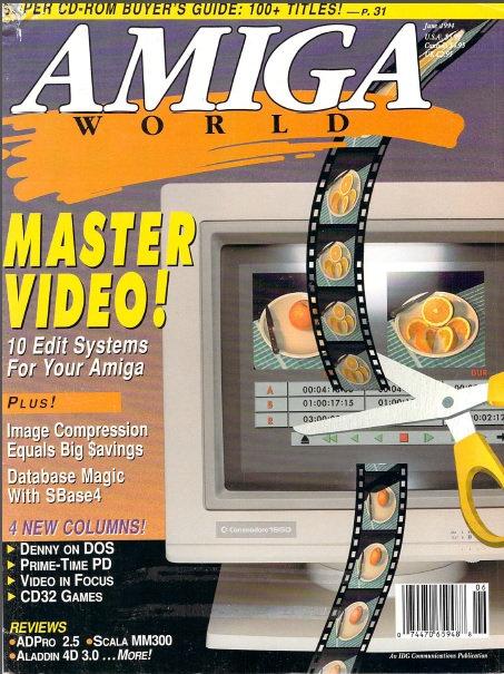 Amiga World June 1994