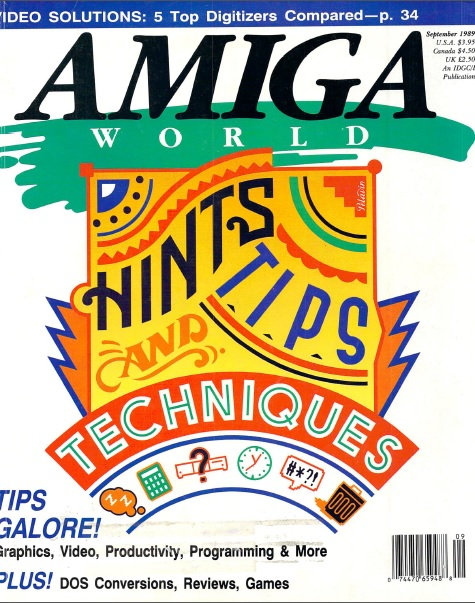 Amiga World Sep 1989