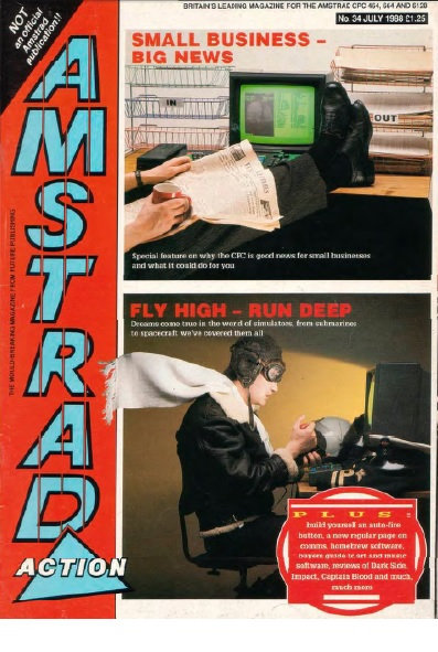 Amstrad Action July 1988