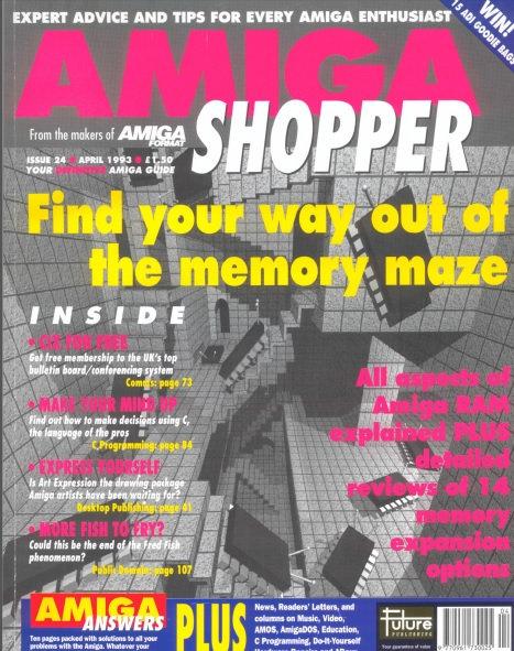 April 1993 Amiga Shopper