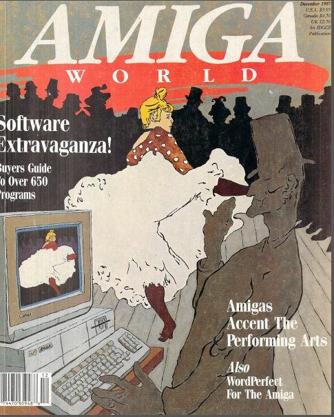 Amiga World Dec 1987