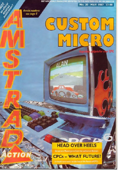 Amstrad Action May 1987