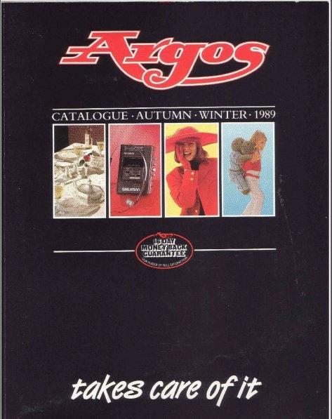 1989-1990 Argos Autumn/Winter